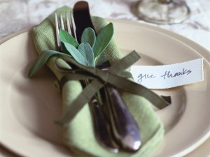 Thanksgiving Place Setting Image